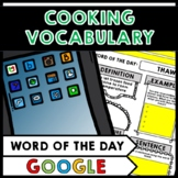 Life Skills - Cooking - Recipes - Food - Vocabulary - Word of the Day - GOOGLE