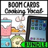 Life Skills - Cooking Vocabulary - BOOM CARDS - Recipe - Food Prep - BUNDLE