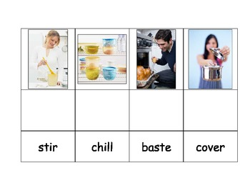 Life Skills: Cooking Words