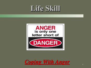Life Skills - Coping With Anger