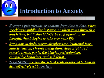 Mastering Life Skills for Students - Coping With Anxiety