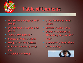 Life Skills - Coping With Drug Abuse
