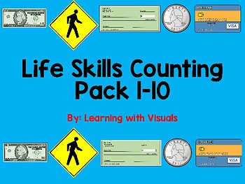 Life Skills Counting Pack 1-10