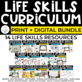 Life Skills Curriculum Bundle for Special Ed: Print + Digi