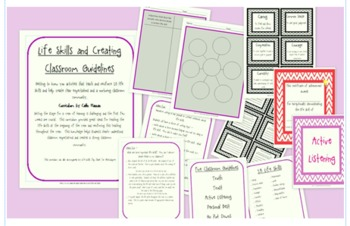 Life Skills Curriculum to begin the year