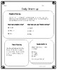 Life Skills Daily Problem Solving Worksheets Month 4