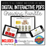 Life Skills Digital Activities GROWING BUNDLE