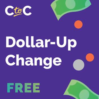 Life Skills – Dollar Up Change Tiered Worksheet FREE