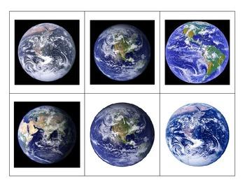 Life Skills: Earth, Moon or Sun