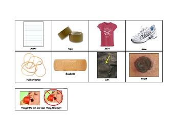 Life Skills: Edible vs. Non-Edible