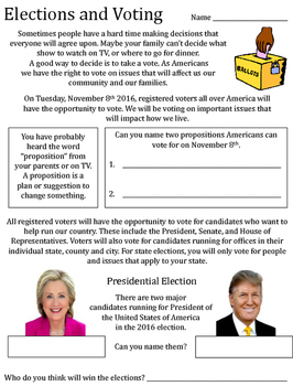 Life Skills - Elections and Voting