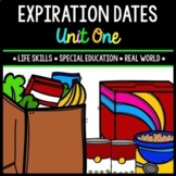 Life Skills - Expiration Dates - Special Education - Cooking - Reading - Unit 1