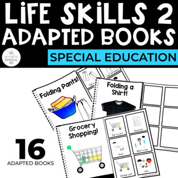 Life Skills Extension Adapted Books