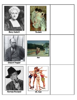 Life Skills: Famous Artists and Their Works
