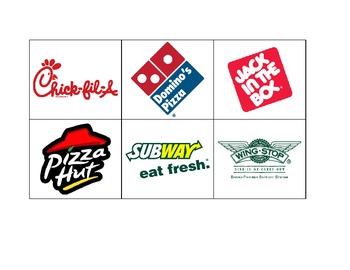 Life Skills: Fast Food Logos
