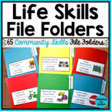 Life Skills File Folder Activities for Special Education and Autism