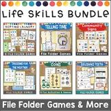 Life Skills File Folder Game Bundle