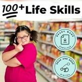 Life Skills File Folder  Growing BUNDLE Special Education