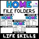 Life Skills File Folders- Home Items