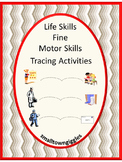 Life Skills, Fine Motor Tracing Activities Special Education, Tracing lines