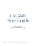 Life Skills Flashcards - Editable!