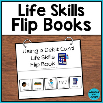 Life Skills Flip Books for Special Education and Autism