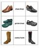 Special Education: Footwear Shoe Match