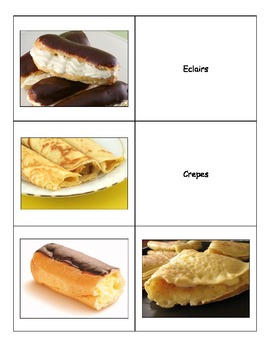 Special Education: France French Foods