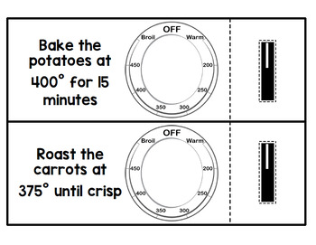 Life Skills Functional Reading: Cooking Using an Oven!