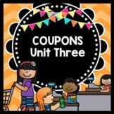 Life Skills Functional Reading and Math: Coupons and Grocery Shopping!