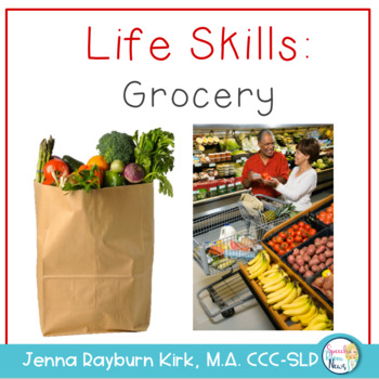 Life Skills Grocery Activities: Functional Vocabulary & Language