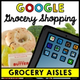 Life Skills - Grocery Shopping - Grocery Aisles - GOOGLE - Special Education