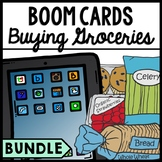 Life Skills - Grocery Shopping - Special Education Reading - BOOM CARDS - Bundle