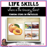 Life Skills Grocery Store Associations BOOM distance learn