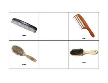 Life Skills: Grooming Items