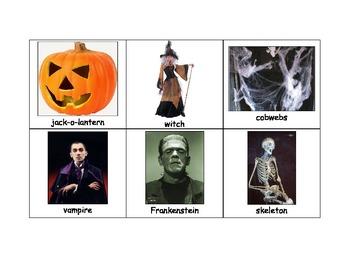 Life Skills: Halloween Bingo