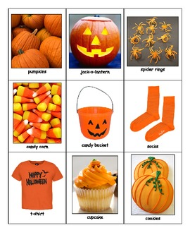 Special Education: Halloween Colors