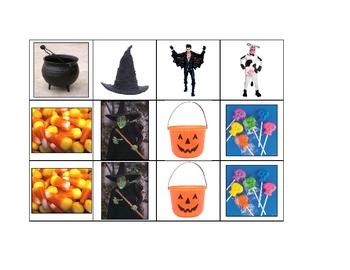 Life Skills: Halloween Memory Game
