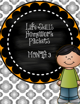 Life Skills Homework Packets Month 3