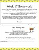 Life Skills Homework Packets Month 5