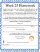 Life Skills Homework Packets Month 7