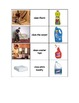 Special Education: Household Cleaning Products & Their Uses - Match
