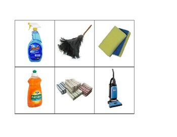 Life Skills: Housekeeping and Janitorial Items