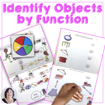 Language of Life Skills Identify by Function Speech Therapy Special Education