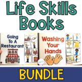 Life Skills Interactive Book BUNDLE (Adapted Books for Special Ed and Autism