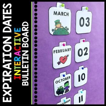 Life Skills - Interactive Bulletin Board - Expiration Dates- Special Education