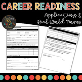 Career Readiness | Job Applications | Real World Personal Data Applications