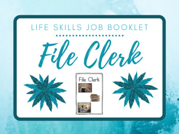 Life Skills Job Booklet: File Clerk