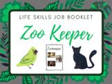 Life Skills Job Booklet: Zookeeper