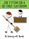 Life Skills Job System for a Special Education Classroom